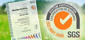 Our Products are Certified under SGS